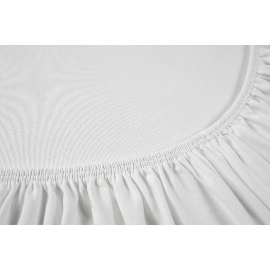 Простынь на резинке Othello - Cottonflex белый 180*200+40
