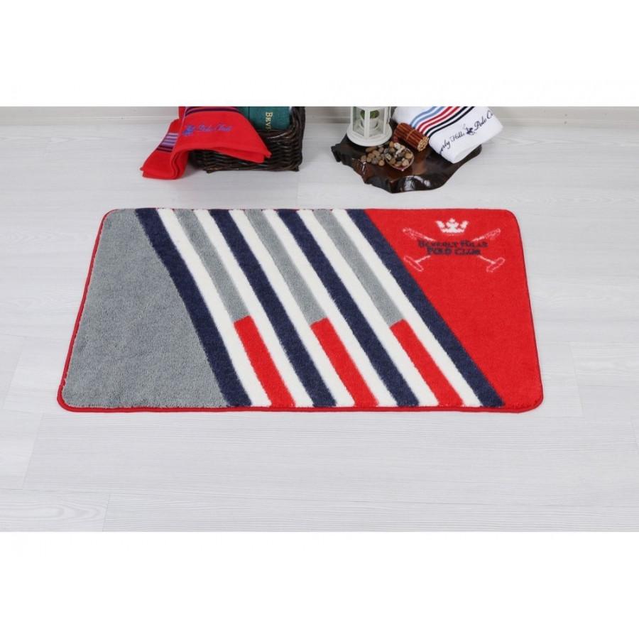 Килимок Beverly Hills Polo Club - 304 Red 57*100