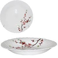 Тарелка суповая 22 см Японская вишня Snt 30067-61122