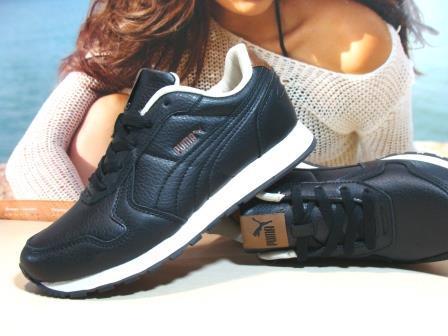 Кросівки чоловічі Puma RX чорно-білі 43 р.