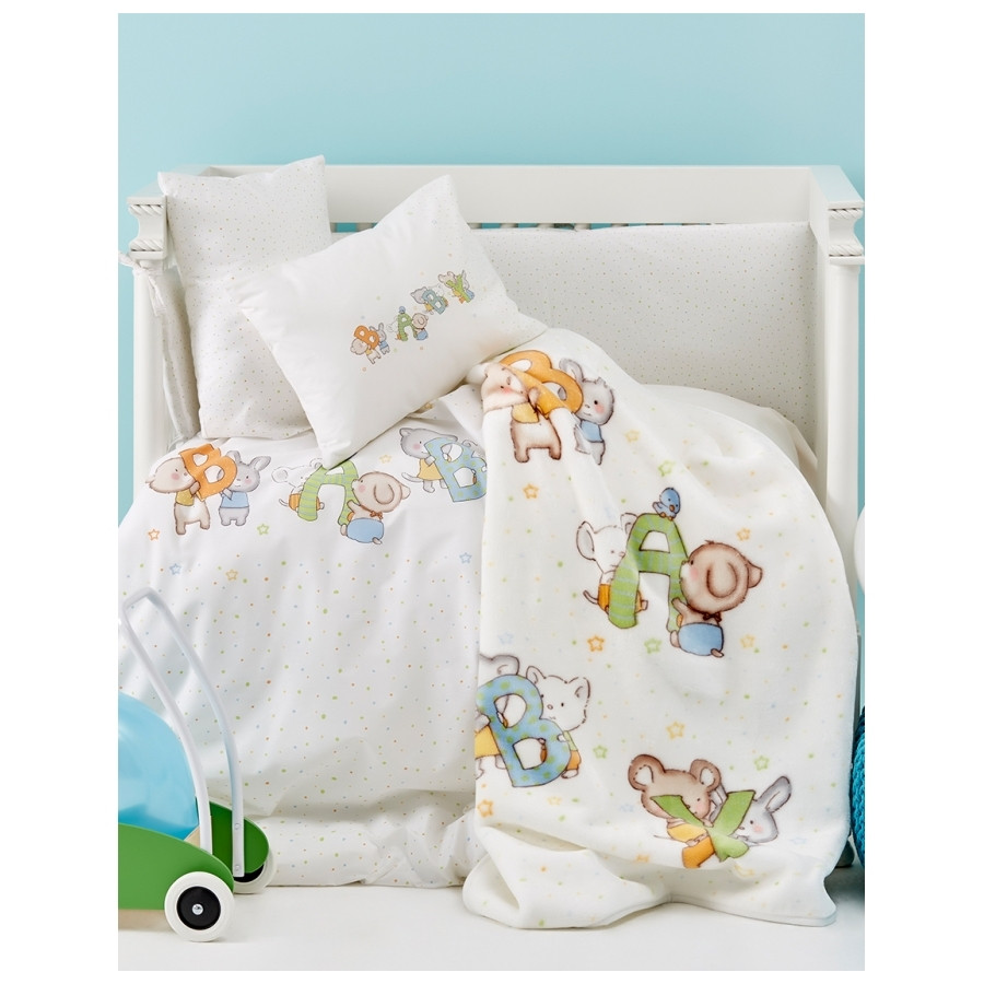 Дитячий плед в ліжечко Karaca Home - Playfull 2017-1 100*120