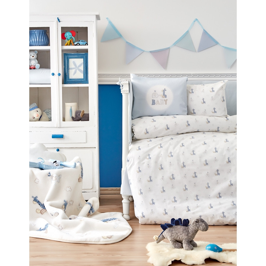 Постельное белье для младенцев Karaca Home - Tospa 2018-1 ранфорс