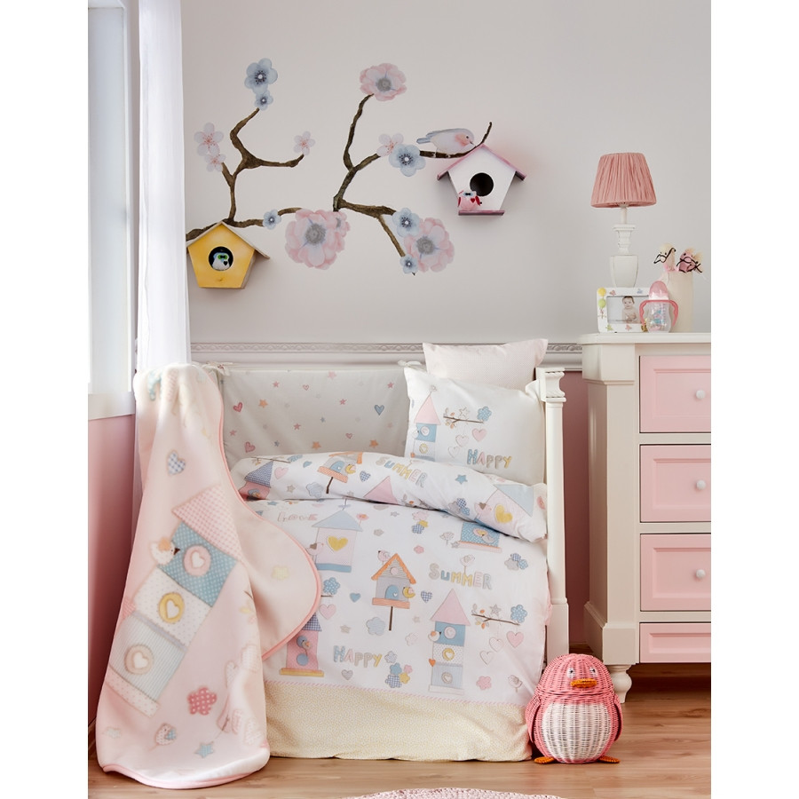 Дитячий плед в ліжечко Karaca Home - Happy 2018-1 100*120