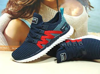 Кросівки жіночі BaaS ADRENALINE GTS 1 синьо-червоні 36 р.