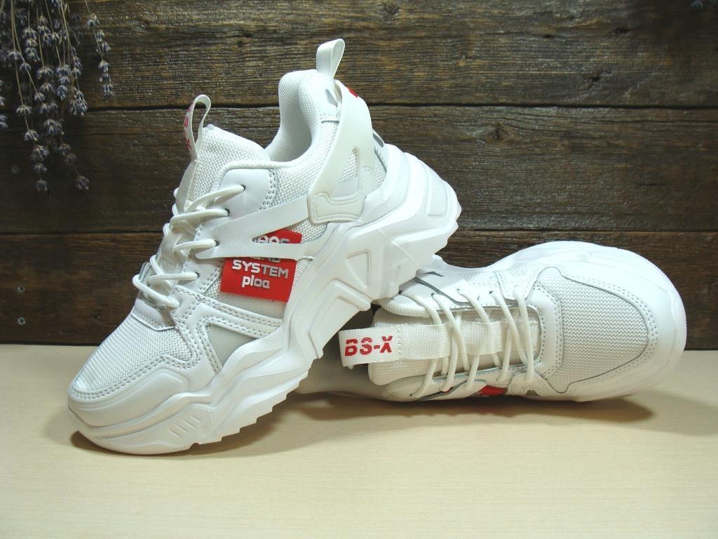 Женские кроссовки BaaS Trend  System белые 37 р.