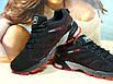 Чоловічі кросівки BaaS Marathon - 2 чорно-червоні 44 р., фото 3