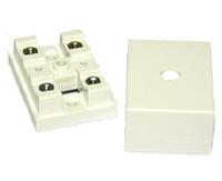 Коробка с клеммами КМС-4 для сигнализации