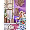 Набір постільна білизна з покривалом Karaca Home - Mishka fusya 2020-1 фуксія євро, фото 2