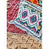 Набір постільна білизна з покривалом Karaca Home - Mishka fusya 2020-1 фуксія євро, фото 3