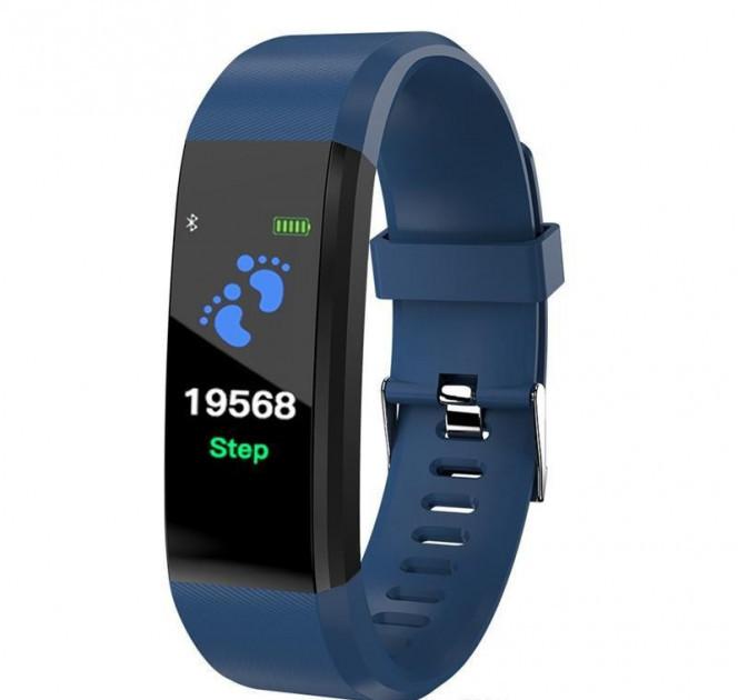Фитнес браслет Smart Band ID115 Синий