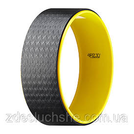Колесо для йоги и фитнеса 4FIZJO Dharma Xxl Yellow SKL41-240765