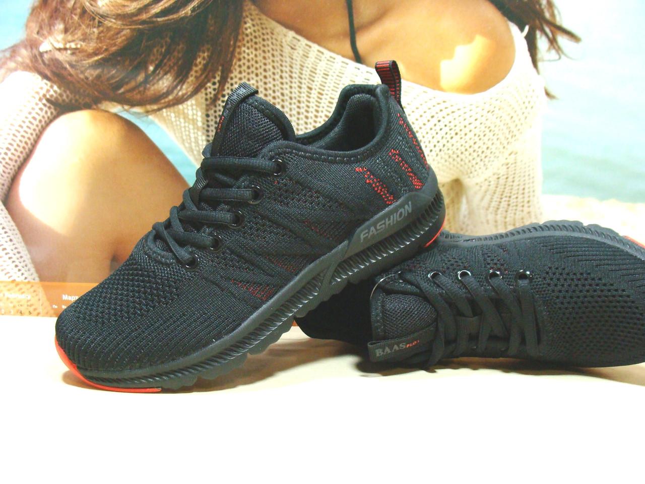 Кросівки жіночі BaaS F чорні 40 р.