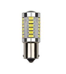 Лампа автомобильная светодиодная ZIRY BA15S - P21W (1156), белая