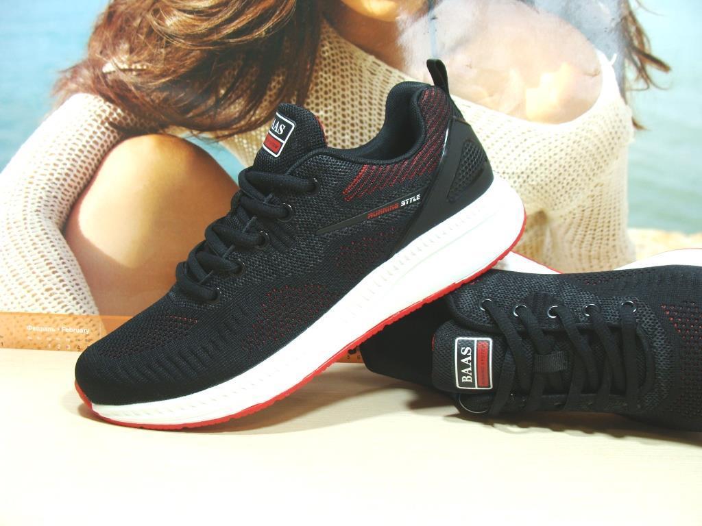 Кросівки чоловічі BaaS Running - 3 чорні 43 р.