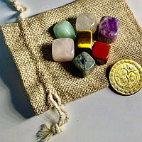 Чакральные камни Рейки Reiki йога 7 чакр гармония +Подарок, фото 1