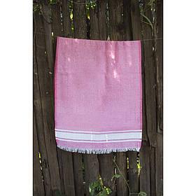 Полотенце Lotus Pestemal - Pink 01 75*150 Simple stripe