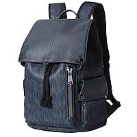 Мужской синий рюкзак, тканевый рюкзак синего цвета, городской рюкзак для мужчин CC-2532-95