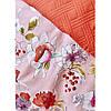 Набор постельное белье с покрывалом Karaca Home - Elia pembe 2020-1 розовый евро, фото 3