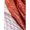 Набір постільна білизна з пледом Karaca Home - Alley kiremit 2020-1 цегляний євро, фото 4