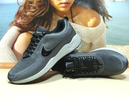 Кроссовки мужcкие Nike Air Zoom Spiridon  серые 44 р.