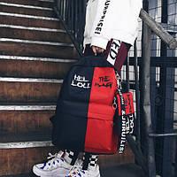 Рюкзак унисекс с принтом СС-2525-35