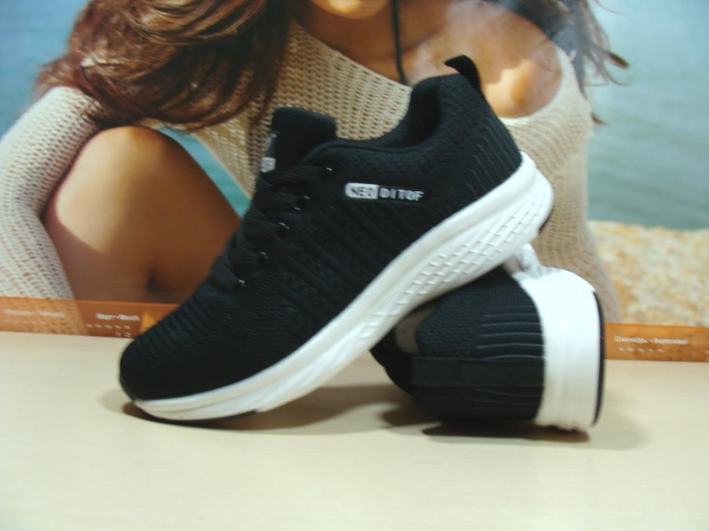 Кросівки жіночі Ditof Neo чорні 38 р.