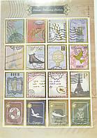 Наклейки для открытки Марки 3
