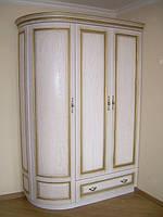 Шкаф из массива дерева коллекция «Полесье»