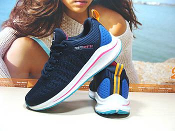 Жіночі кросівки BaaS Neo - 5 сині 38 р.