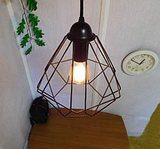 Подвесной светильник CLASSIC E27 чёрный, фото 3