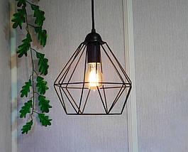 Подвесной светильник CLASSIC E27 чёрный, фото 2
