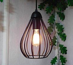 Подвесной светильник FANTASY E27 чёрный, фото 3