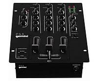 Микшерный пульт для DJ Gemini PS-3 Микшерный пульт для DJ GEMINI PS-3