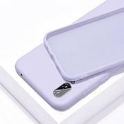 Силиконовый чехол SLIM на Samsung A20 Purple