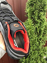 Кроссовки мужские серые осенне - весенние термо, фото 2