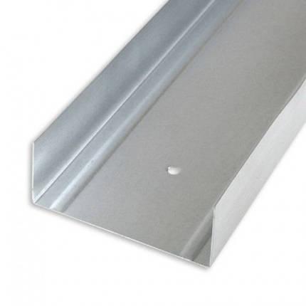 Профіль для гіпсокартону UW 75 (0,40 мм), 4м, фото 2