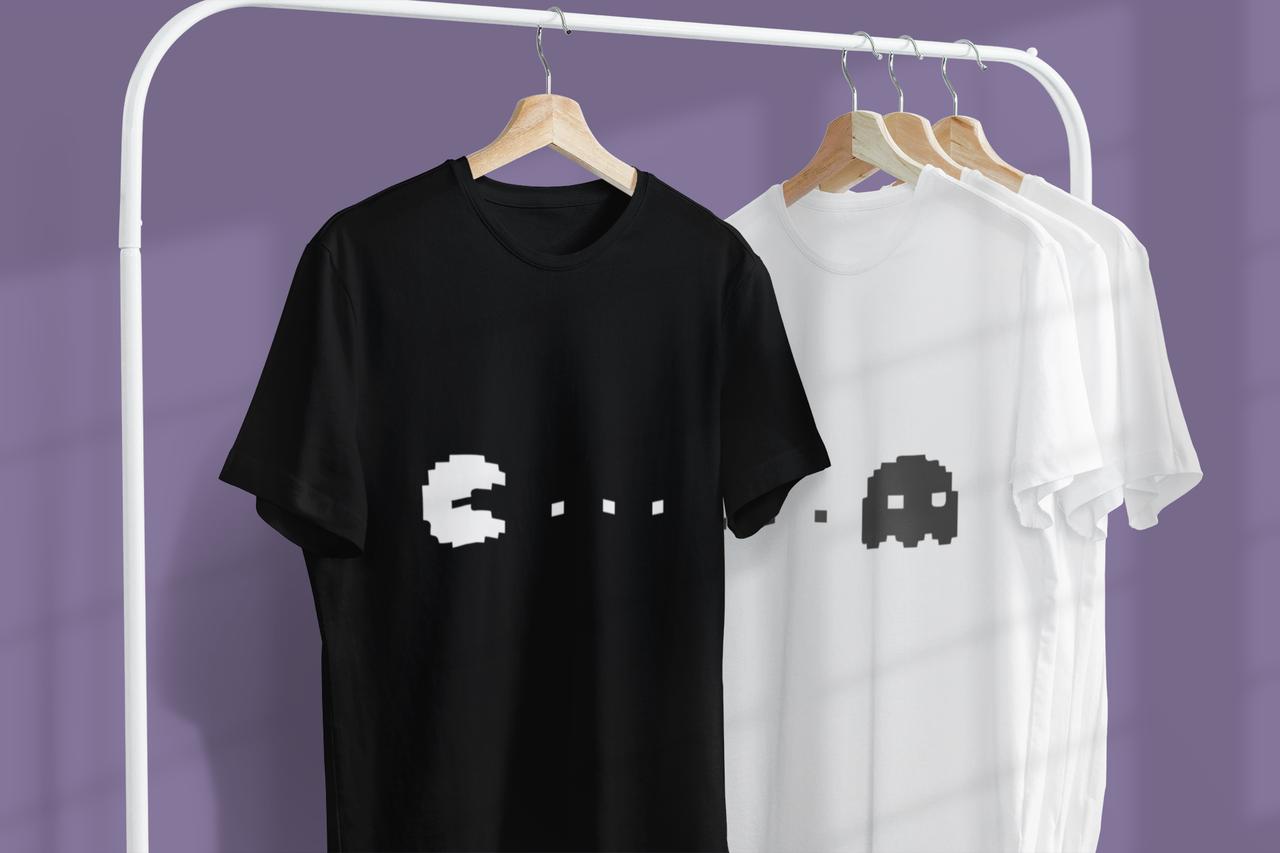 """Парні футболки для закоханих  """"Гейспад / Джойстики"""""""