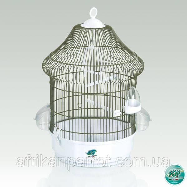 Клетка для попугаев и канареек. Fop Lolita 37 х 48 см.Италия.