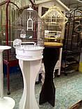 Клетка для попугаев и канареек. Fop Lolita 37 х 48 см.Италия., фото 2