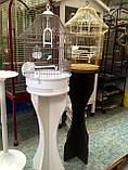 Клетка для попугаев и канареек. Fop Lolita 37 х 48 см.Италия., фото 4