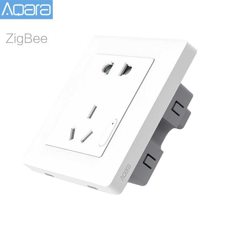 Умная розетка Xiaomi Aqara Smart Socket ZiGBee white