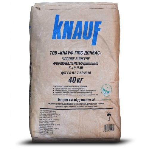 KNAUF Гіпсове у яжуче Р-10 , мішок 40 кг (30 шт/п)