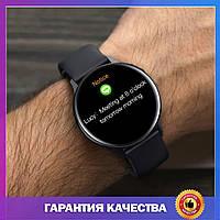 Умные Смарт часы, чоловічий годинник Smart Watch IWO 20 (S20 Pro), мужские спортивные смарт-часы, черные