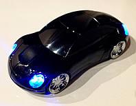 Беспроводная мышь (авто) черная, горящие фары