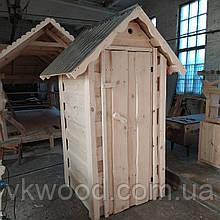 """Уличный туалет из дерева """"Теремок №2"""""""