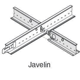 Профіль для підвісної стелі Armsrong Javelin 24 XL2 , 0,6 м, фото 2
