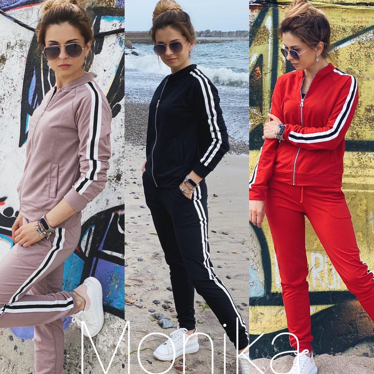 Женский  спортивный костюм 42-52 р 3 цвета