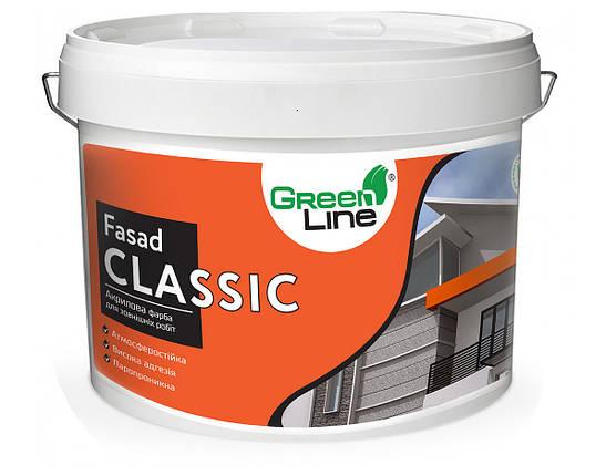 GREEN LINE Фасадная акриловая краска Fasad Classic 10л, фото 2