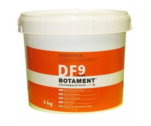 BOTAMENT DF 9 Plus Бесшов еластич гідроізоляція поверхонь д/вологих приміщень 3 кг, фото 2