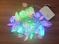 Гирлянда светодиодная, сердечки, фото 1